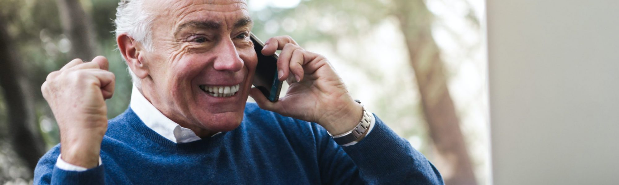 selective-focus-photo-of-excited-elderly-man-in-blue-sweater-3754684